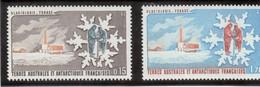 B3 - TAAF - PO 102/103 ** MNH De 1984 - Station De Forage Et Neige Cristallisée. - Terres Australes Et Antarctiques Françaises (TAAF)