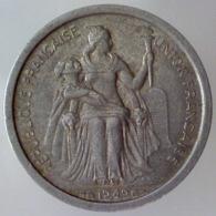 NUOVA CALEDONIA 1 Franc  1949      QSPL - Nouvelle-Calédonie