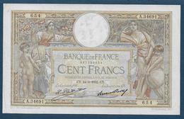 BILLET De  100 F  L.O. Merson  Du  24 - 3 - 1932 - 1871-1952 Antichi Franchi Circolanti Nel XX Secolo