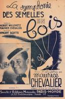 """La Symphonie Des Semelles En Bois""""  """"Maurice Chevalier""""  Partitions Musicales Anciennes - Spartiti"""