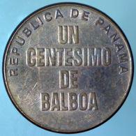 PANAMA 1 Centesimo  2001      QSPL - Panama