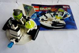 FIGURINE LEGO 6815 VAISSEAU SPATIAL HOVERTRON Avec Notice 1996   - MINI FIGURE - Figures
