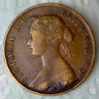 NUOVO BRUNSWICK 1 Cent  1861      QBB - Monnaies