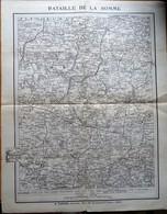 Carte De La Bataille De La Somme - A.Taride - Cartes