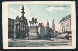 ANTWERPEN (ref. CP Nr 66) - Standbeeld Leopold I - Niet Gelopen - Antwerpen