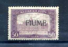 1918-19 FIUME N.14 * - 8. Occupazione 1a Guerra