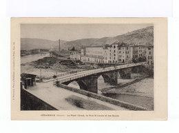 Bédarieux. Le Pont Vieux, La Rue St Louis Et Les Quais. (3164) - Bedarieux