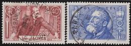 France   .   Yvert    .   318/319      .      O      .      Oblitéré - Usati