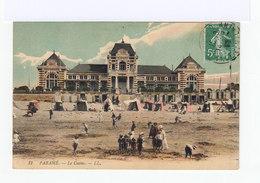 Paramé. Le Casino.Enfants, Cabines De Plage. (3165) - Parame