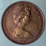 NUOVA ZELANDA 1 Cent  1967      QBB - Nuova Zelanda