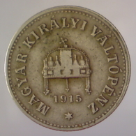 IMPERO AUSTRO UNGARICO 10 Filler  1915      BB - Hongrie