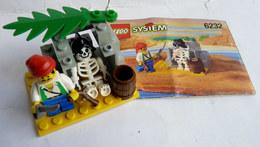 FIGURINE LEGO 6232 SKELETON CREW Avec Notice 1996 - MINI FIGURE - Figures