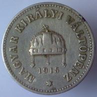 IMPERO AUSTRO UNGARICO 10 Filler  1915      BB++ - Ungheria