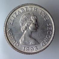 BALIATO DI JERSEY 5 Pence  1993      FDC - Jersey