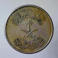REGNO DELL'ARABIA SAUDITA 10 Halala 2 Ghirsh 1972      BB++ - Arabia Saudita