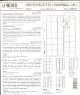 LINDNER - Feuilles MONNAIES MULTI COLLECT 35 CASES (MU 35) - Matériel