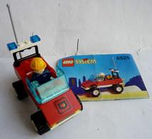 FIGURINE LEGO 6525 BLAZE COMMANDER VOITURE POMPIERS Avec Notice 1995 - MINI FIGURE - Figures