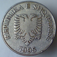 REPUBBLICA DI ALBANIA 5 Leke  1995      QBB - Albanie