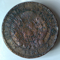 ARGENTINA 2 Centavos  1884      B - Argentina