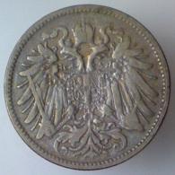 IMPERO AUSTRO UNGARICO 20 Heller  1893      BB++ - Austria