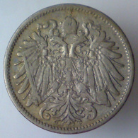 IMPERO AUSTRO UNGARICO 20 Heller  1894      BB - Austria