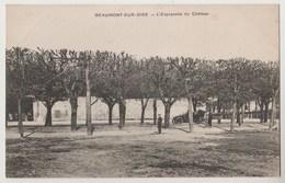 CPA 95 BEAUMONT L' Esplanade Du Château - Beaumont Sur Oise