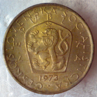REPUBBLICA SOCIALISTA CECOSLOVACCA 5 Korun  1973      BB - Cecoslovacchia