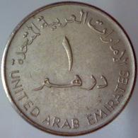 EMIRATI ARABI UNITI 1 Dirham  1998 ١٤١٩ - ١٩٩٨     BB QSPL - Emirats Arabes Unis