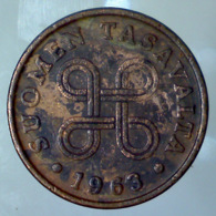 FINLANDIA 1 Penni  1963      MB+ - Finlandia