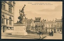ANTWERPEN (ref. CP Nr 73) - Standbeeld Antoon Van Dijck - Niet Gelopen - Antwerpen
