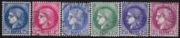 France   .   Yvert    .   372/376     .      O      .      Oblitéré - Used Stamps