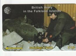 Falklands Is. - British Army - Royal Engineers - 59CFKB - Falkland Islands