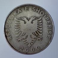 REPUBBLICA DI ALBANIA 5 Leke  2000      QBB - Albania