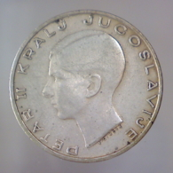 REGNO DI JUGOSLAVIA 20 Dinara  1938      QBB - Yougoslavie