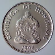 REPUBBLICA DELL'HONDURAS 20 Centavos  1994      FDC - Honduras