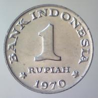 REPUBBLICA D'INDONESIA 1 Rupiah  1970      FDC - Indonesia