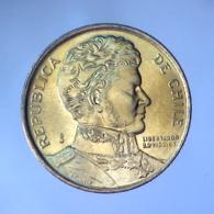REPUBBLICA DEL CILE 1 Peso  1989      FDC - Chili