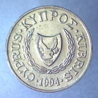 REPUBBLICA DI CIPRO 2 Cents  1994      FDC - Chypre