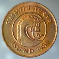 ISLANDA 50 Aurar  1986      FDC - Islande