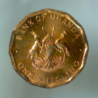 REPUBBLICA DELL'UGANDA 1 Shilling  1987      FDC - Ouganda