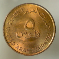 EMIRATI ARABI UNITI 5 Fils FAO 1973      QFDC - Emirati Arabi