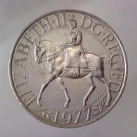 GRAN BRETAGNA 25 Pence  1977      SPL QFDC - 1971-… : Monnaies Décimales