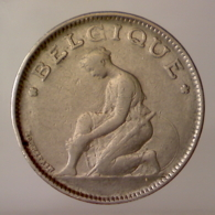 REGNO DEL BELGIO 1 Franc Legenda Francese 1923      BB+ - 1909-1934: Alberto I