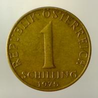 AUSTRIA 1 Schilling  1975      BB++ - Austria