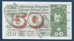 Suisse - BILLET De  50 F    Du  15 - Mai - 1968 - Suisse