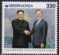 South Korea 2018 Inter-Korean Summit, Peace, President Moon Jae-in, Chairman Kim Jong-un - Corée Du Sud