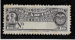 Colombie Timbres Pour Lettres Chargées N°15 - Neuf * Avec Charnière - Aminci - B/TB - Colombia