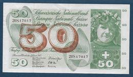 Suisse - BILLET De  50 F    Du  2 - Janvier - 1965 - Suisse