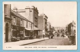 A063  Post Card  CHIPPENHAM (England)  New Road, From The Bridge  ++++++ - Angleterre