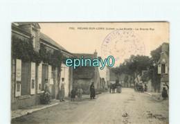 45 - Dd - MEUNG SUR LOIRE - La Nivelle - La Grande Rue - Altri Comuni